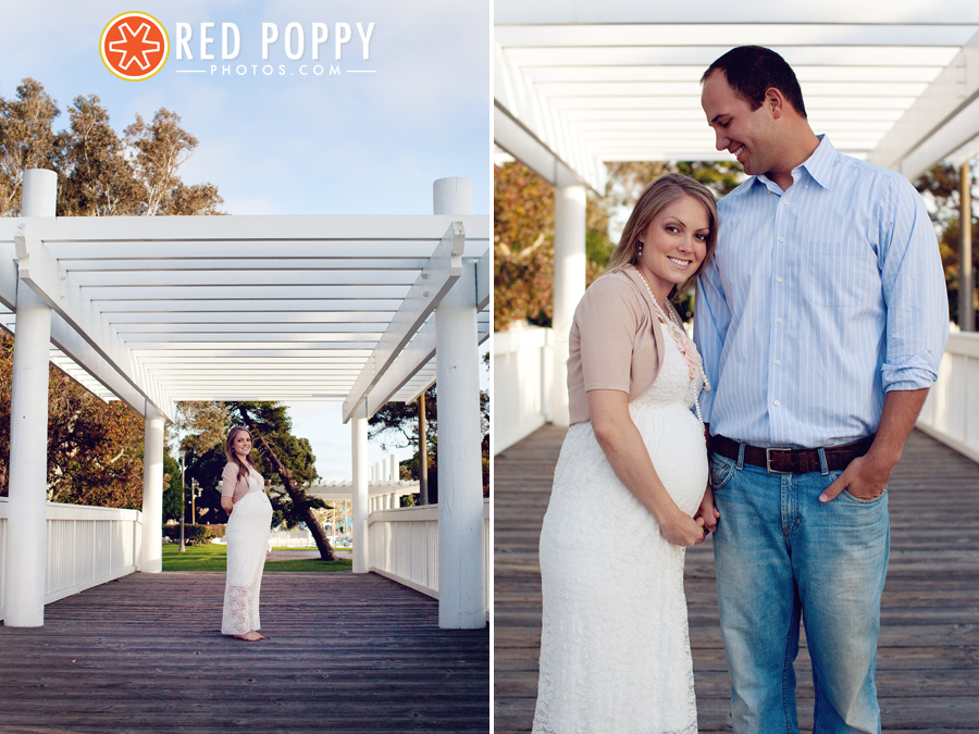 Red Poppy Photos by Stacy Thiot | Los Angeles Maternity Photographer