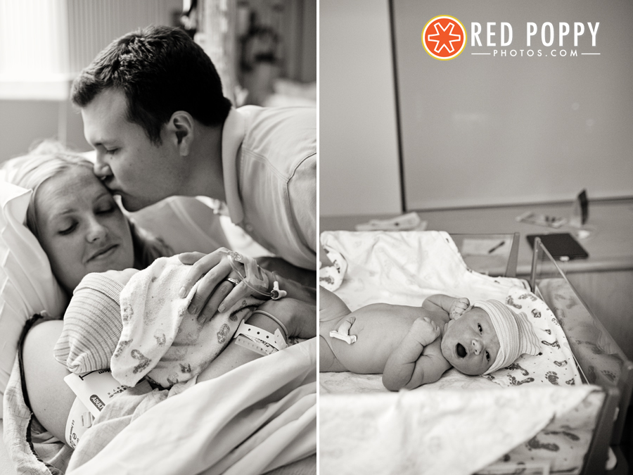 Red Poppy Photos by Stacy Thiot | Los Angeles Birth Photographer
