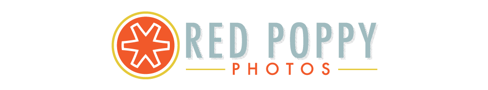 red poppy photography | by | stacy thiot logo